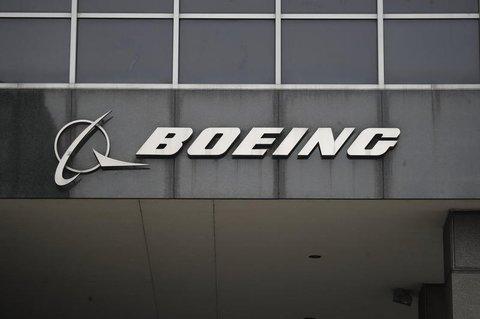 Der Schriftzug von Boeing ist am Hauptsitz  in Chicago angebracht.