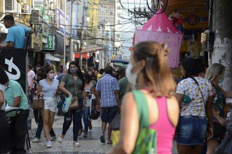 Straßenszene in Rio de Janeiro