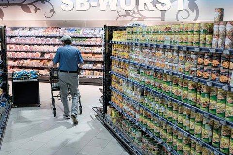 Bei 2G würde auch in Supermärkten die Abstands- und Maskenpflicht entfallen.