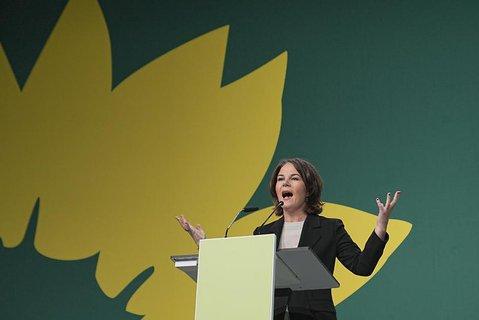 Die Grünen-Co-Chefin Annalena Baerbock.