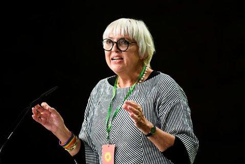 Claudia Roth ist seit 1998 Mitglied des Bundestags.