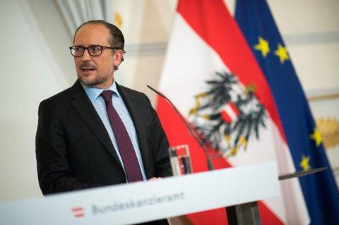 Bundeskanzler von Österreich: Alexander Schallenberg.