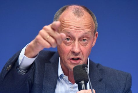 Ex-Chef der Unionsfraktion: Friedrich Merz (CDU).