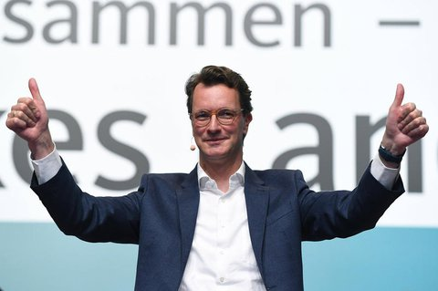 Neuer Chef der CDU in NRW: Hendrik Wüst.