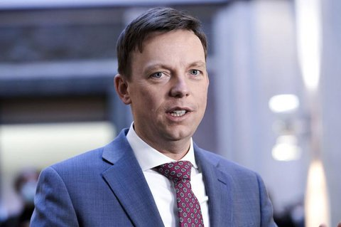 Der Ministerpräsident des Saarlands: Tobias Hans.