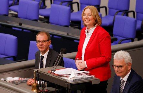 Bärbel Bas ist neue Bundestagspräsidentin.